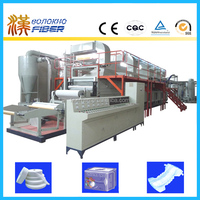Material for baby diaper production line, airlaid paper