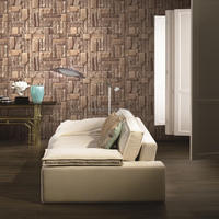 2015 hot sale 3d brick wallpaper