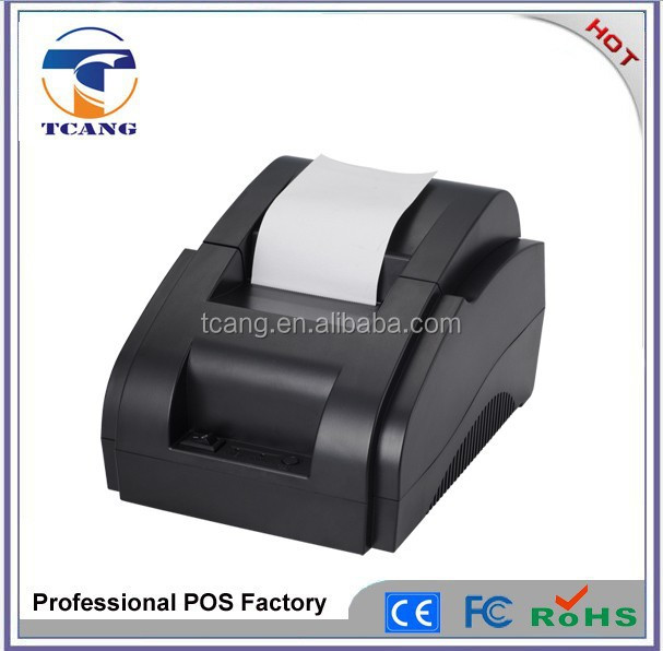 Cashier thermal receipt printer 58mm POS printer desktop thermal printer for POS system