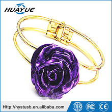 Sweet romantic rose ring jewerly USB 3.0 Flash Drive/Stick for lover