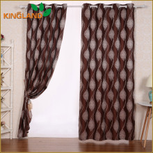 Factory Direct Sale New Design Polyester Fabric Jacquard Curtains Wholesale Window Curtains