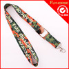 Promotional Braid Fashion ID Card Badge Holder Leather Lanyard