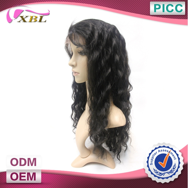 Best Quality 150 Density 100% Virgin Remy Human Hair Full Lace Wig
