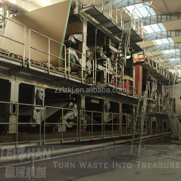 Factory price testliner paper machine ,fluting paper machine,tray egg carton making machine