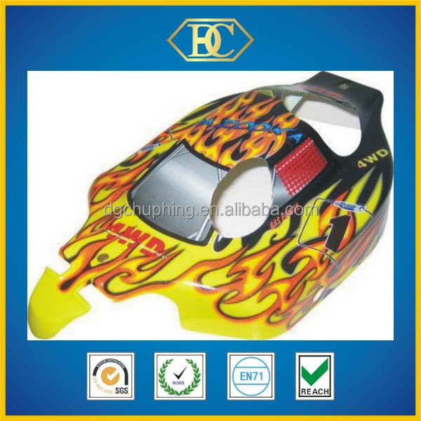 Narrow printed PVC buggy body,body shell for 1 8 rc car,1/8th scale rc car body