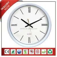 Plastic Frame CE Wall Clock