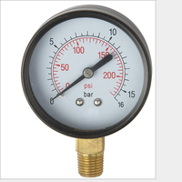 use no oil turbo pressure gauge