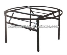 Round / rectangle table Metal banquet folding table leg