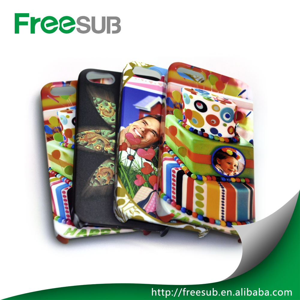 Wholesale customed blank 2D 3D sublimation phone case for Iphone 5