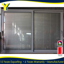 Aluminium Lift & Sliding Doors With Blinds Inside from YY factory of Aluminium double glazed windows & doors solutions