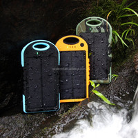 12000mAh Dual USB Solar Panel Power Bank External Battery Charger For iPad