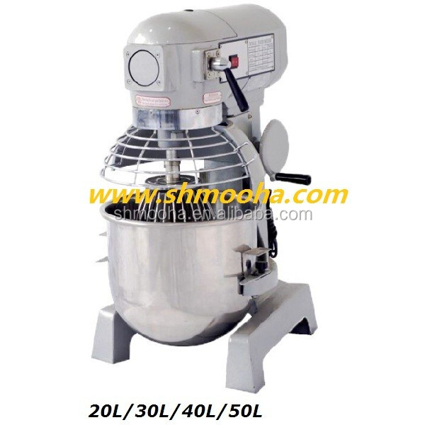 30L Three Speeds Planetary Mixer Cake Mixer with three attachments