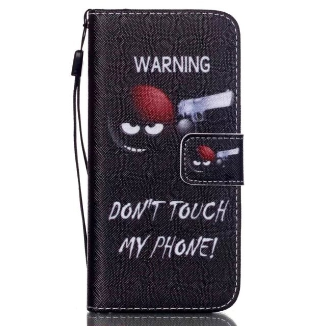 Hot Pattern painted Magnetic Leather Wallet Case Stand Flip Cover For Apple iPhone Phone 6s, 6s plus, 5s,SE, 4