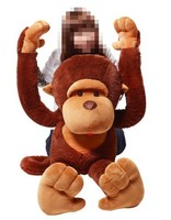 110CM GIANT BIG animal toy plush monkey
