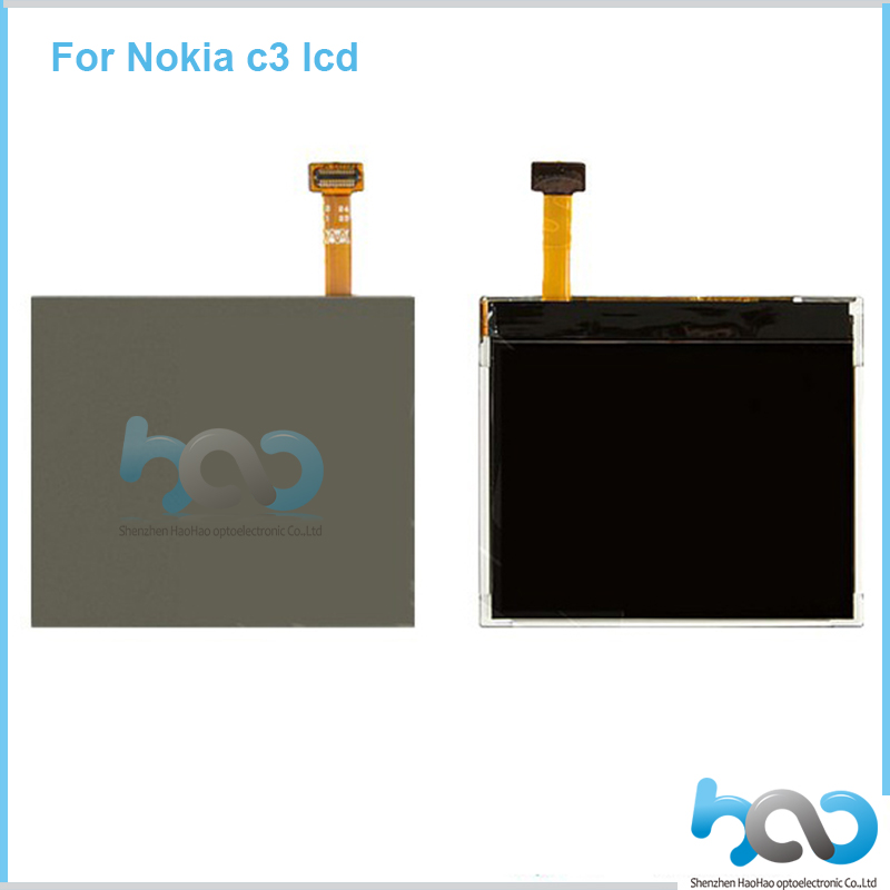 Smartphone digitizer LCD screen for Nokia c3, mobile phone LCD display for Nokia c3