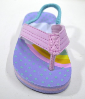 Made In China Light Purple Summer Design Girls Sandals Kids