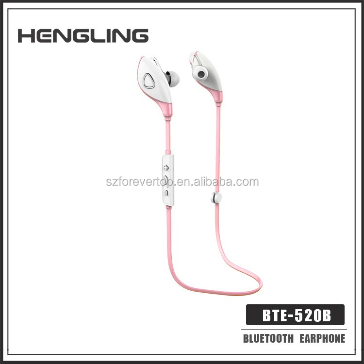 HENGLING patent waterproof bluetooth headphones CSR4.0 Wireless Stereo,clear sounds Headphones Noise Cancelling Earbuds