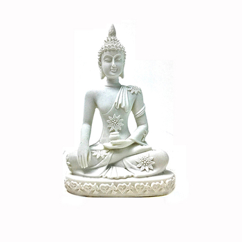 Factory Price Desk Decoration Resin Buddha Statues