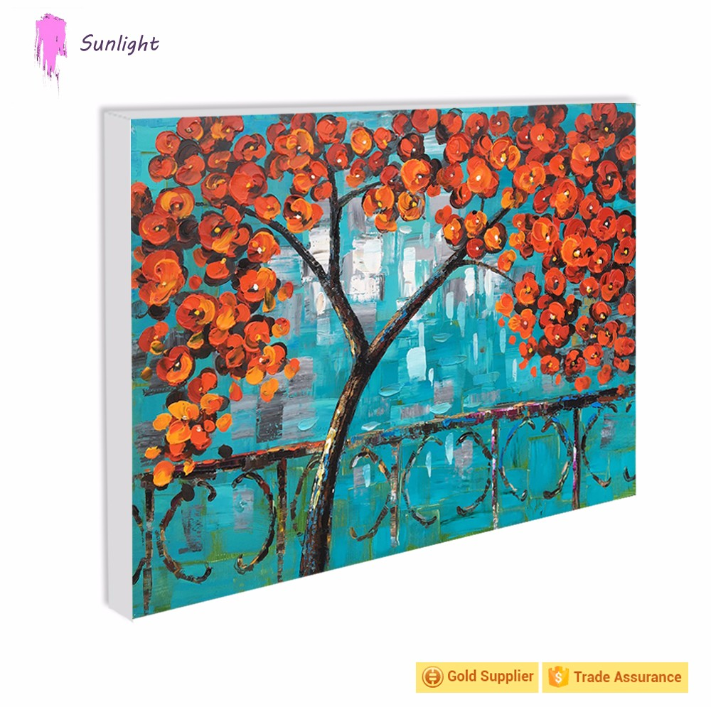 Modern Home Decoration Wedding Wall Art Canvas Oil Painting For Living Room