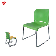 Cheap White Stacking Durable Plastic School Chair