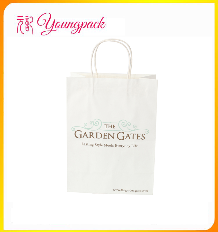 2016 Wholesale High Quality personalized brown paper bags