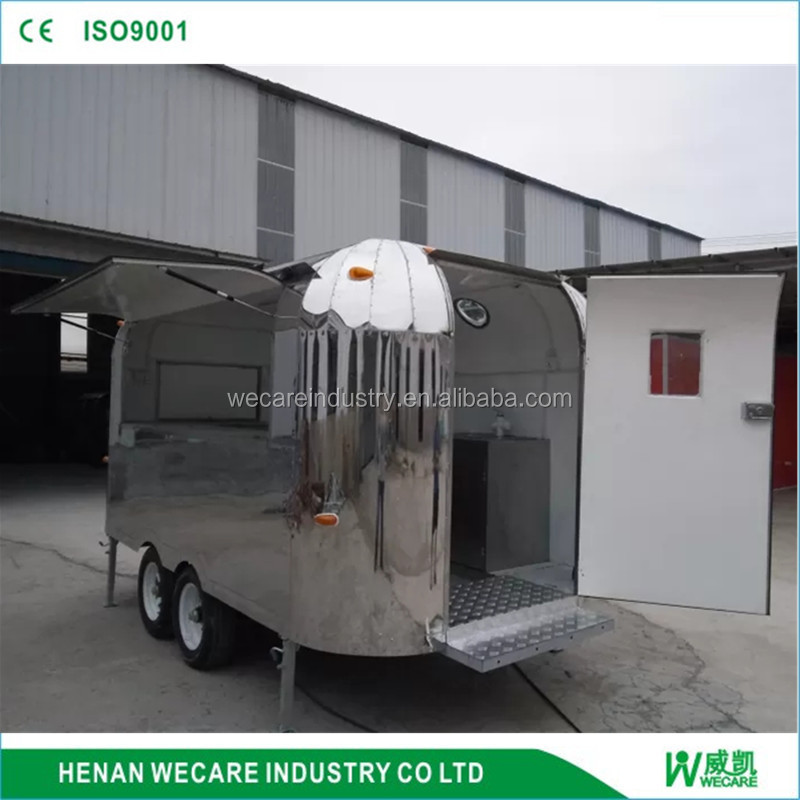 stainless steel food stall