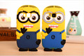 New Cute 3D Cartoon Despicable Me Silicone Minions Case For HTC One M9