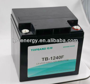 Topband lithium battery 12V 20Ah to 200Ah