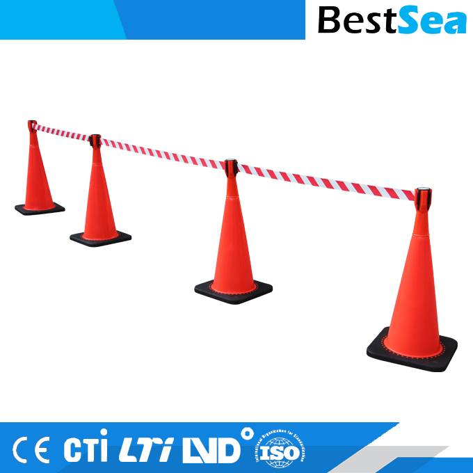 Plastic Retractable Belt Post/Retractable Belt Barrier