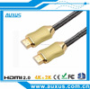 Hi-end hdmi to hdmi 1.4v cable support 3D 4K*2K with ethernet