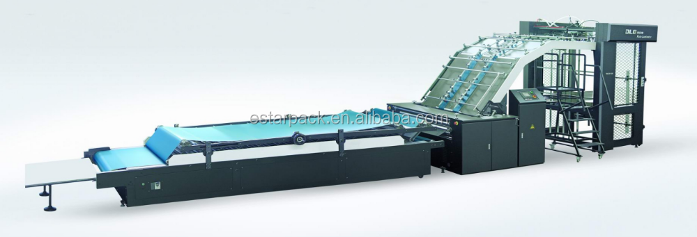 ESTARPACK FMZ- Series 1300 1450 1650 Fully Automatic Corrugated Paper Sheet Industrial Laminating Machine