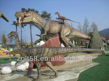 Life size mechanical dinosaur