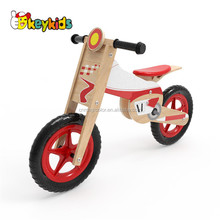 Wholesale cheap high quality wooden balance bike walker for toddler W16C182