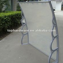 polycarbonate door canopy