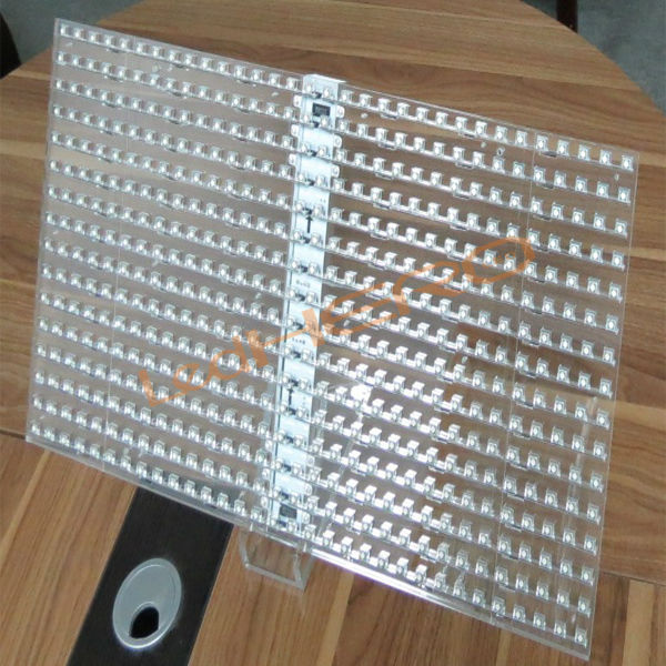 Indoor high brightness 70% transparency led glass screen