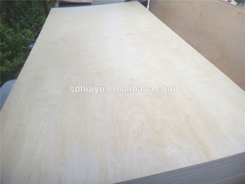 18mm white brich commercial plywood die cut plywood for sale