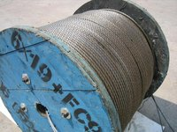 made in China steel wire rope reel