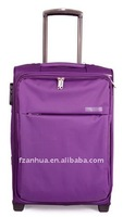 Luxury Purple Trolley Travel Bag