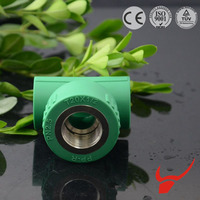 PPR pipe raw material malleable iron pipe fitting lateral tee reducing tee tee pipe fitting