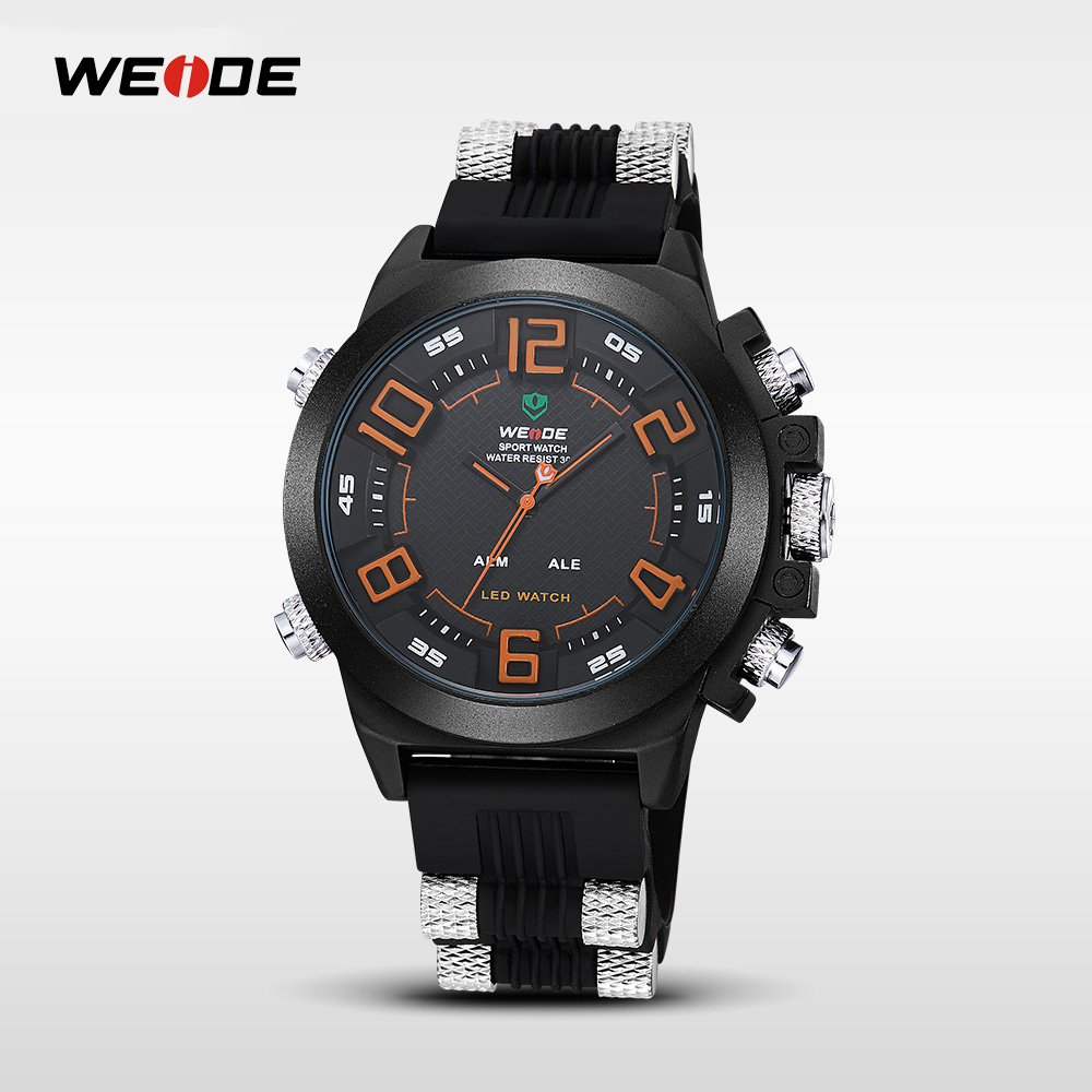 Weide brand mens japan movt quartz watch stainless steel bezel,stainless steel case back china watch factory