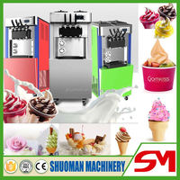 Efficient powerful quick frozen ice cream raw material