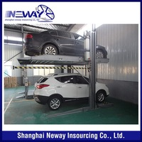 Cheap hot sale promotion stack two post car parking system