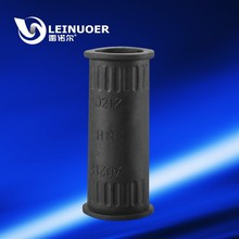 IP65 Liquid Tight Rubber Straight Plastic Conduit Connector