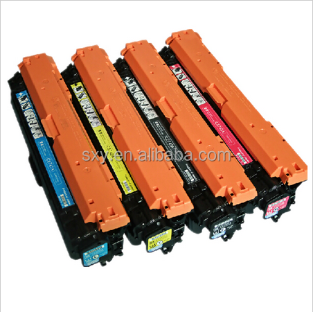 Compatible CE740 CE741 CE742 CE743 Toner Cartridge for Color Laserjet CP5225/CP5225n/CP5225dn