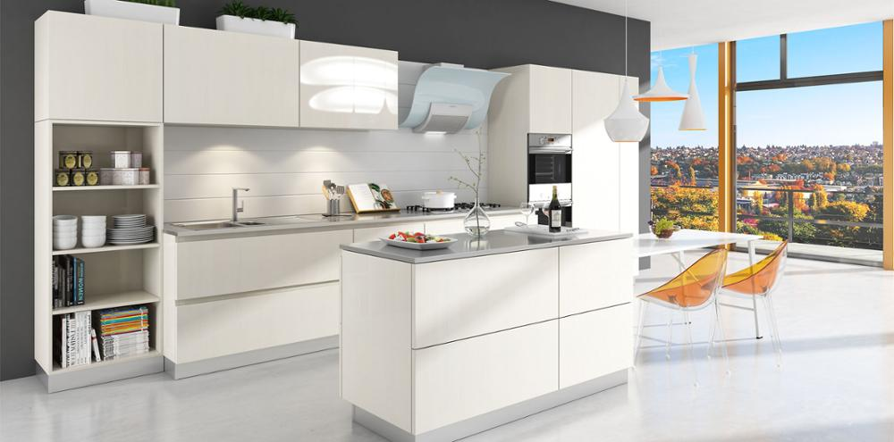 China Made New Idea Modern Complete MDF Lacquer Kitchen Designs Small Kitchen Pictures