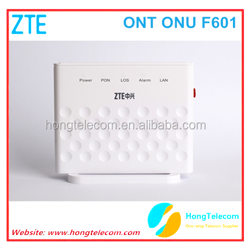 QoS WAN SC/APC, SC/PC option FTTX scenario ZTE GPON F601 with Single GE Class B+ optical module