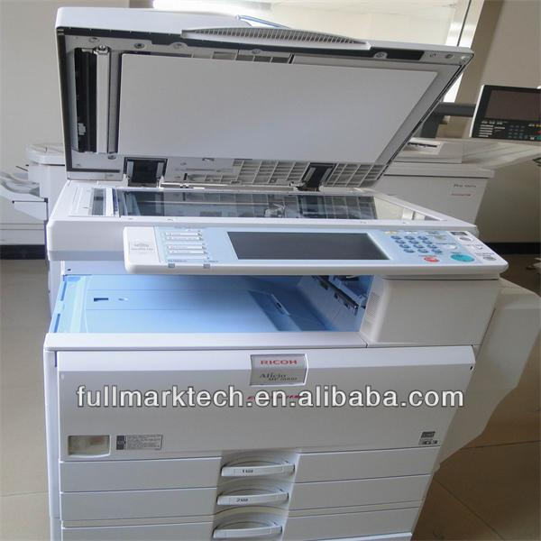 RICOH copier blank and white print mp5000