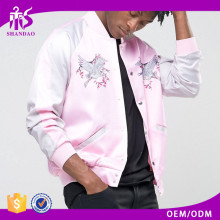 shandao custom factory price 100% polyester pink windproof graphic coaches men's cycling jacket