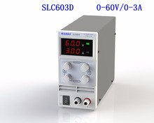 SLC603D 110v 220v switchable ac input 60v 3a dc output variable switching power supply for electric appliance repair