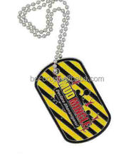 Cheap custom printing wholesale military dog tags for wholesale